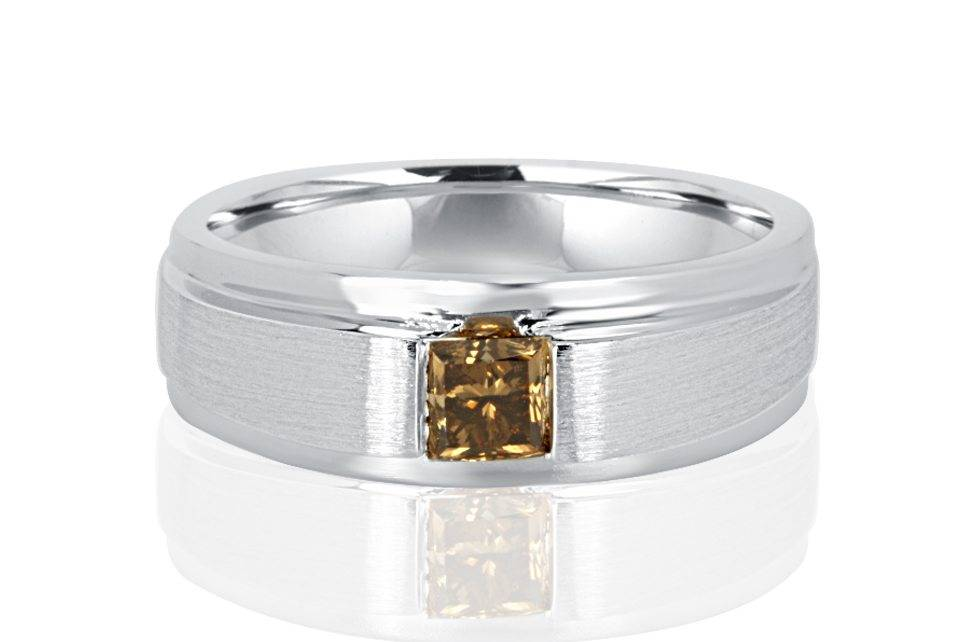 Gents Diamond Ring - R1047 - GN Designer Jewellers