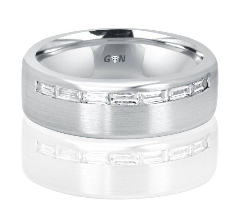 Gents Diamond Ring - R1048 - GN Designer Jewellers