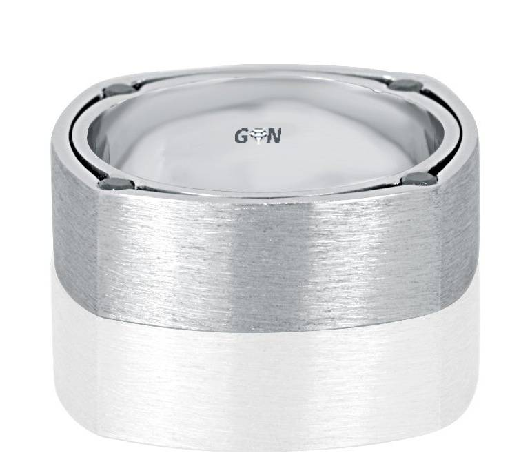 Gents Diamond Ring - R1063 - GN Designer Jewellers