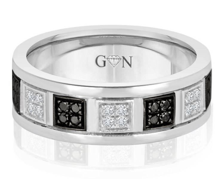 Gents Weddings Rings - R1140 - GN Designer Jewellers