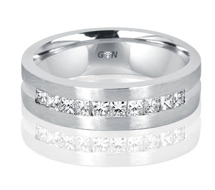 Gents Diamond Ring - R1141 - GN Designer Jewellers