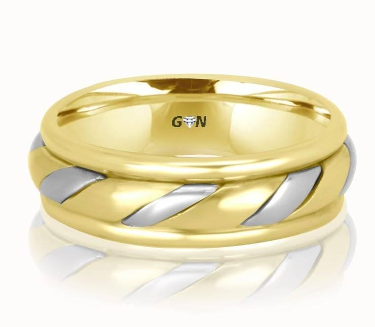 Gents Wedding Ring - R186 - GN Designer Jewellers
