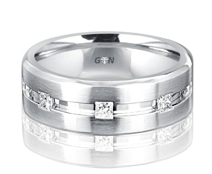 Gents Diamond Ring - R2003 - GN Designer Jewellers