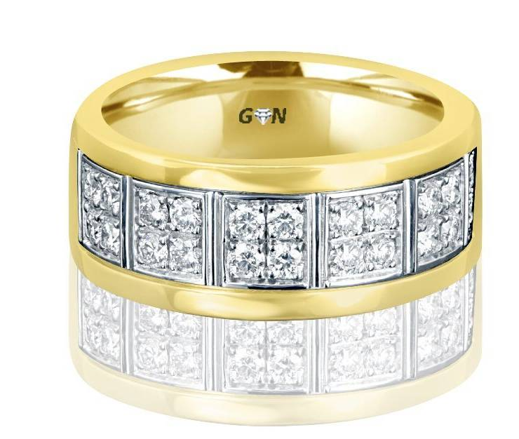 Gents Wedding Ring - R2005 - GN Designer Jewellers