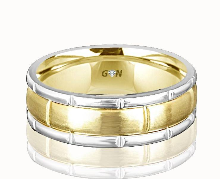 Gents Wedding Ring - R369 - GN Designer Jewellers
