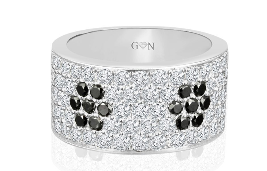 Gents Diamond Ring -R540 - GN Designer Jewellers
