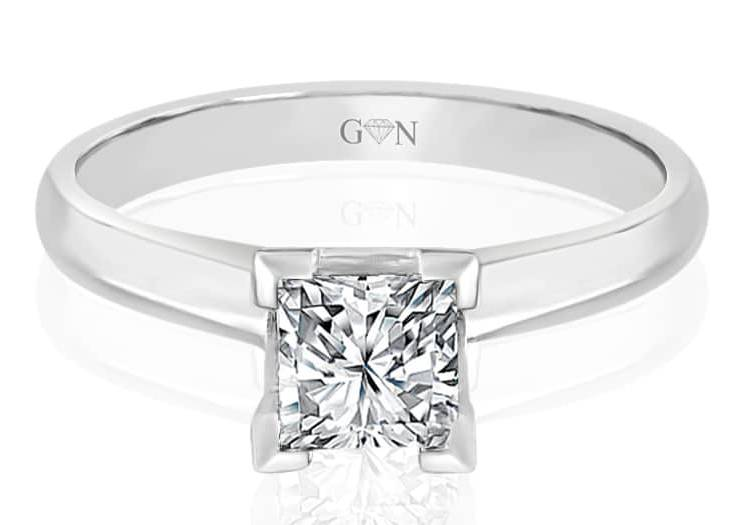 Ladies Solitaire Design Engagement Ring - R543A - GN Designer Jewellers