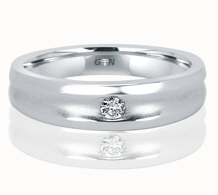 Gents Diamond Ring - R553 - GN Designer Jewellers
