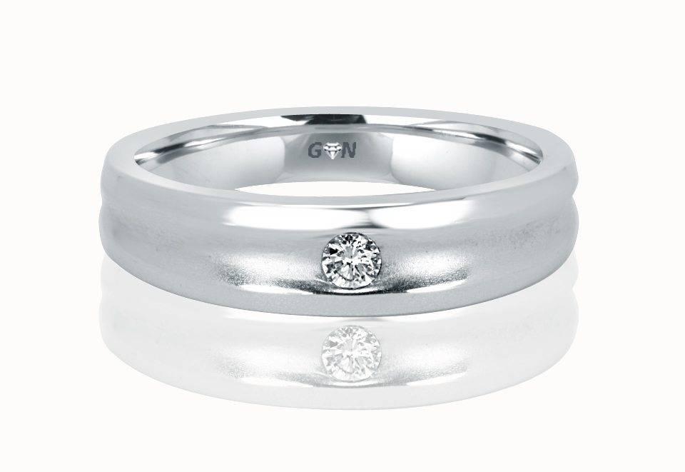 Gents Diamond Ring - R553 - GN Designer Jewellers