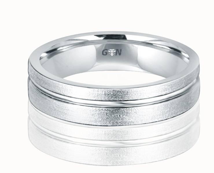 Gents Wedding Ring - R648 - GN Designer Jewellers