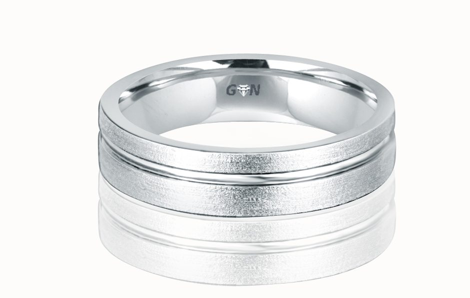 Gents Wedding Ring - R648 - GN Designer Jewellers