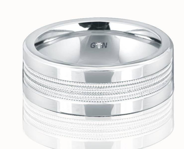 Gents Wedding Ring - R658 - GN Designer Jewellers