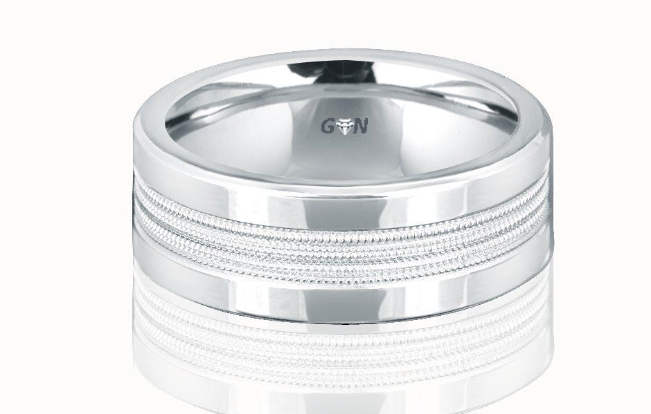 Gents Wedding Ring - R658 - GN Designer Jewellers