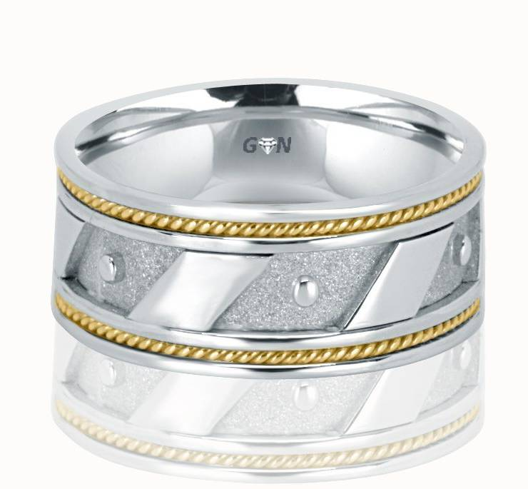 Gents Wedding Ring - R702 - GN Designer Jewellers