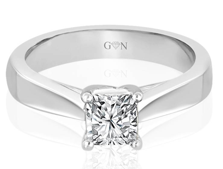Ladies Solitaire Design Engagement Ring - R726 - GN Designer Jewellers