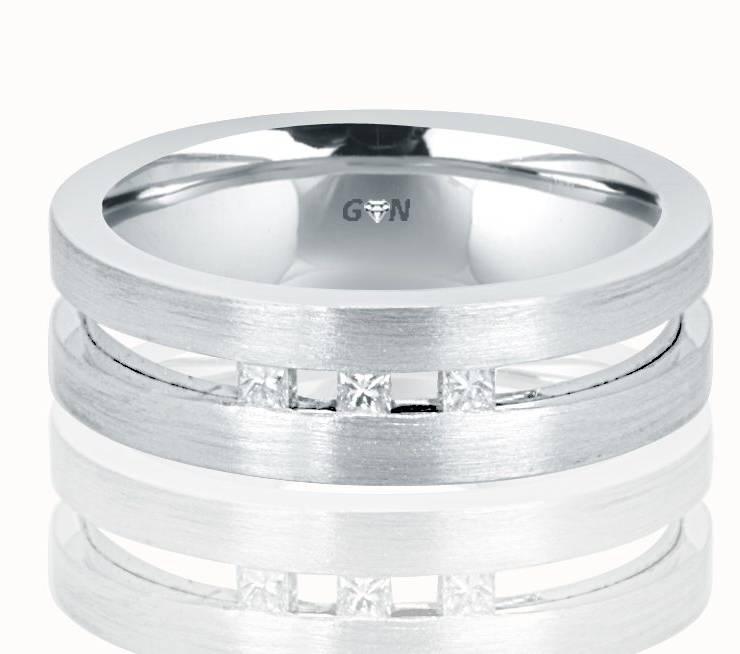 Gents Diamond Ring - R753 - GN Designer Jewellers
