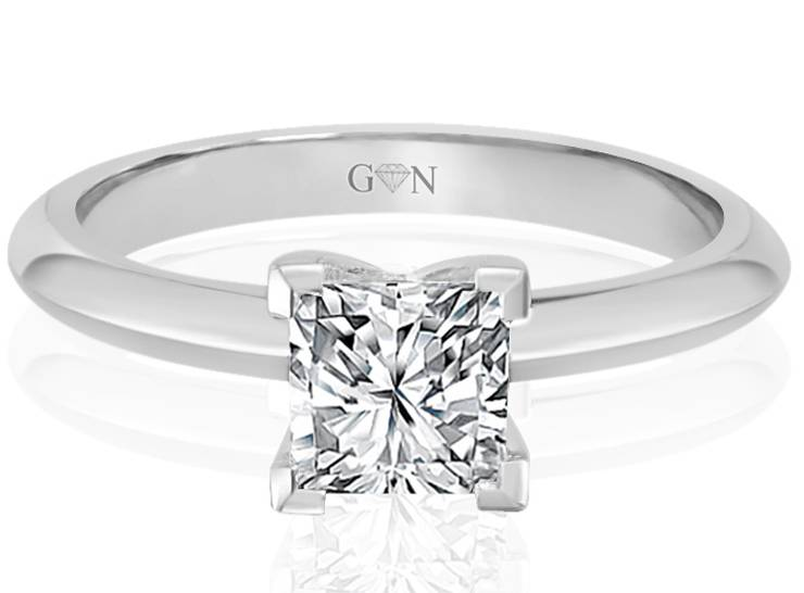 Ladies Solitaire Design Engagement Ring - R792 - GN Designer Jewellers
