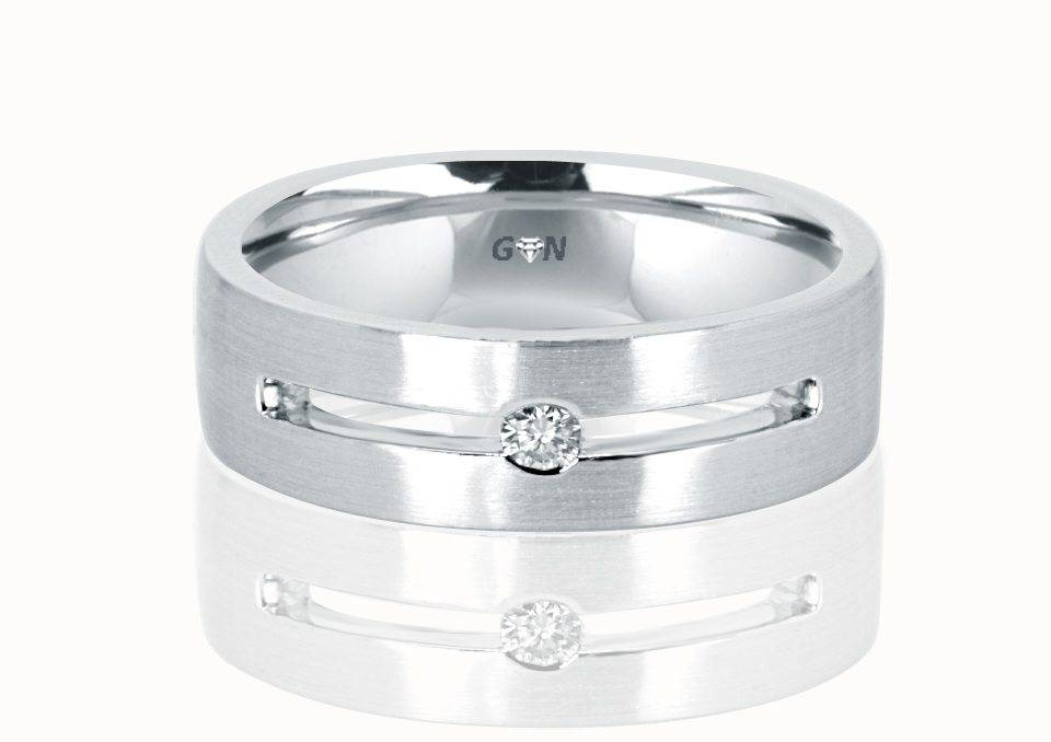 Gents Diamond Ring - R863 - GN Designer Jewellers