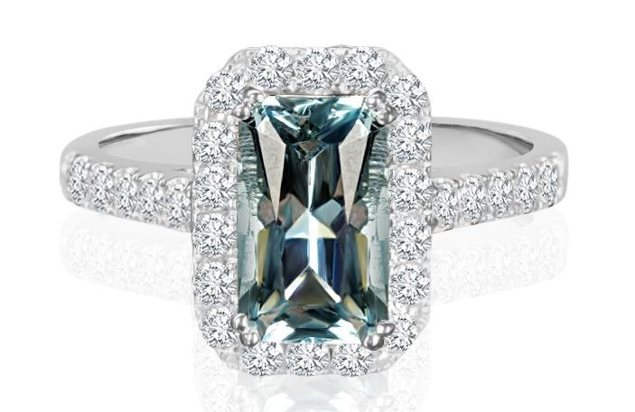 Ladies Multi Set Design Celebration Ring - R893 - GN Designer Jewellers