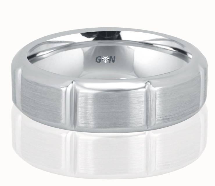 Gents Wedding Ring - R915 - GN Designer Jewellers
