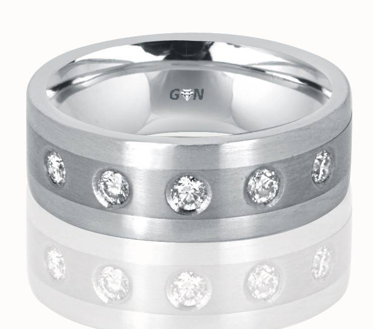 Gents Diamond Ring - R920 - GN Designer Jewellers