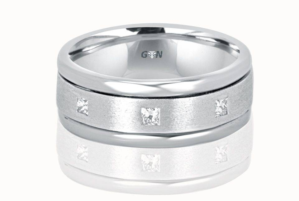 Gents diamond Ring - R924 - GN Designer Jewellers
