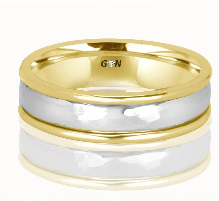 Gents Weddding ring - R955 - GN Designer Jewellers