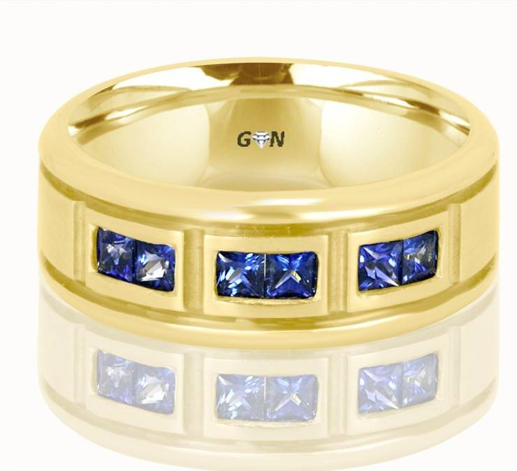 Gents Wedding Ring - R995 - GN Designer Jewellers