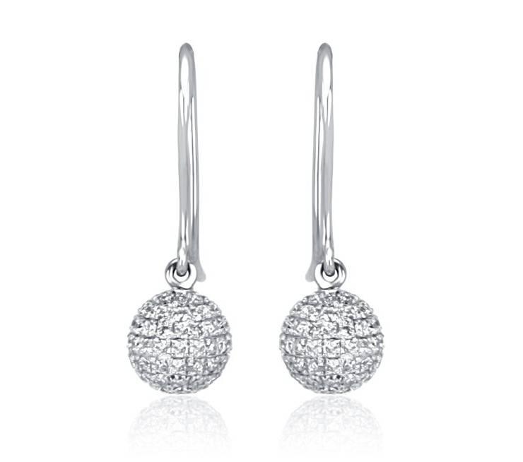 Diamond Earrings - ARD010 - GN Designer Jewellers
