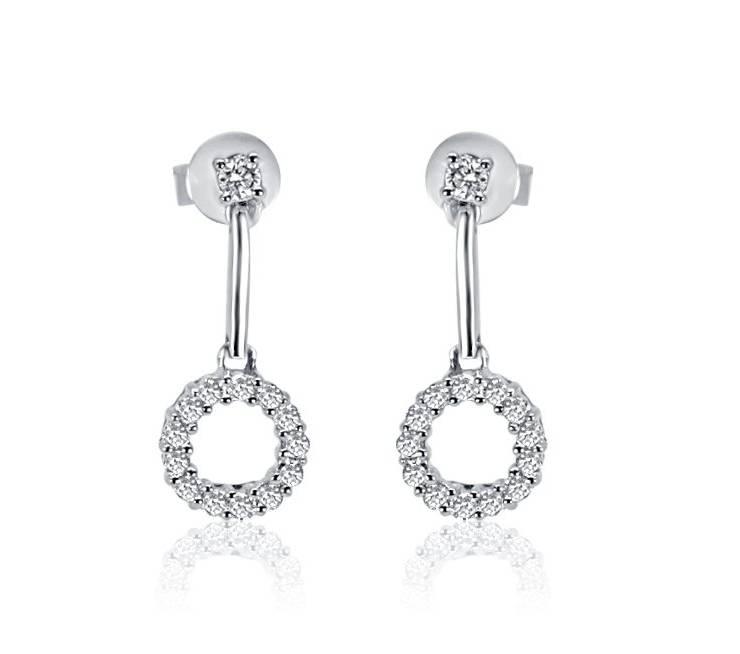 Diamond Earrings - DE151 - GN Designer Jewellers