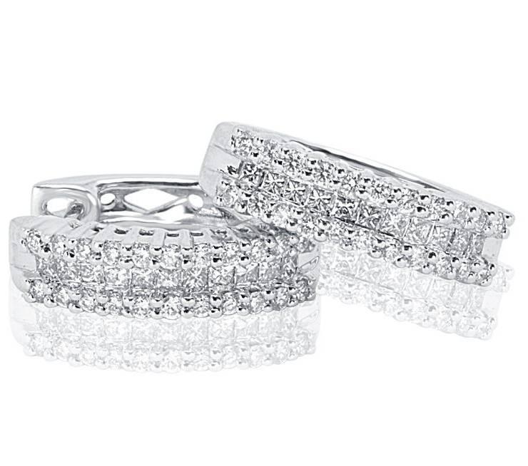 Diamond Earrings - DE207 - GN Designer Jewellers