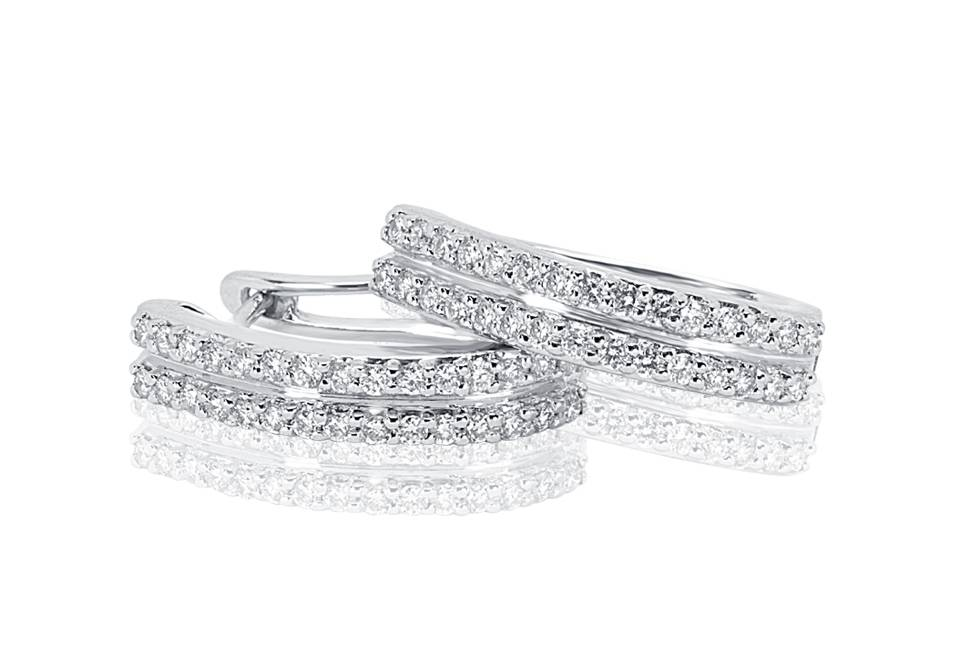 Diamond Earrings - DE208 - GN Designer Jewellers
