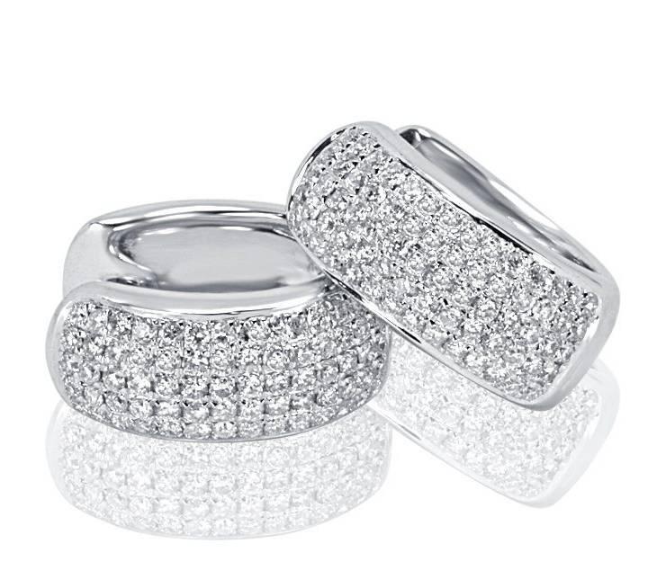 Diamond Earrings - DE220 - GN Designer Jewellers