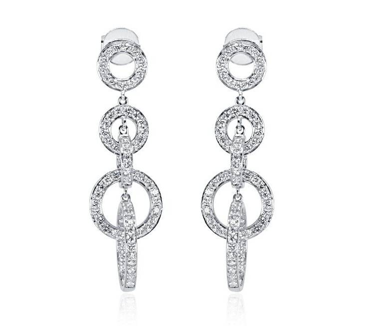 Diamond Earrings - DE230 - GN Designer Jewellers