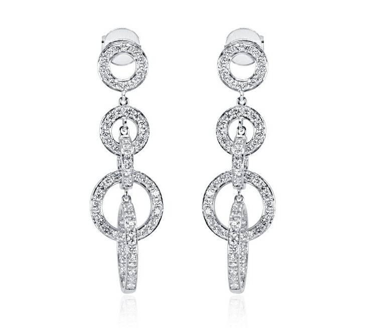 Diamond Earrings - DE230 - GN Designer Jewellers