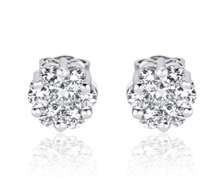 Diamond Earrings - DE71 - GN Designer Jewellers