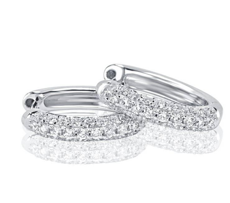 Diamond Earrings - DE802 - GN Designer Jewellers