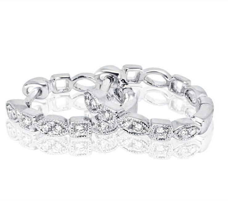 Diamond Earrings - DE830 - GN Designer Jewellers