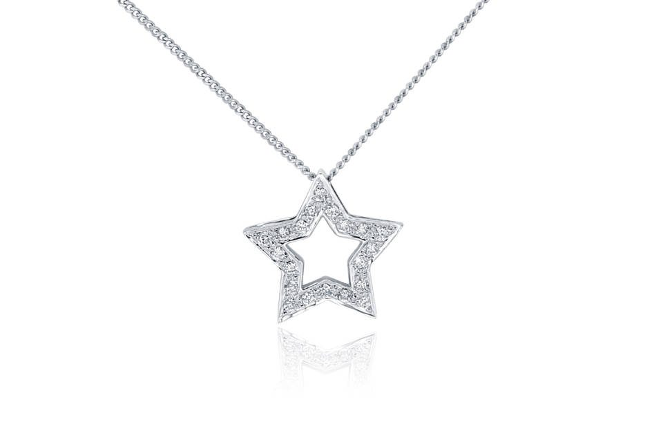Diamond Pendant - DP144 - GN Designer Jewellers
