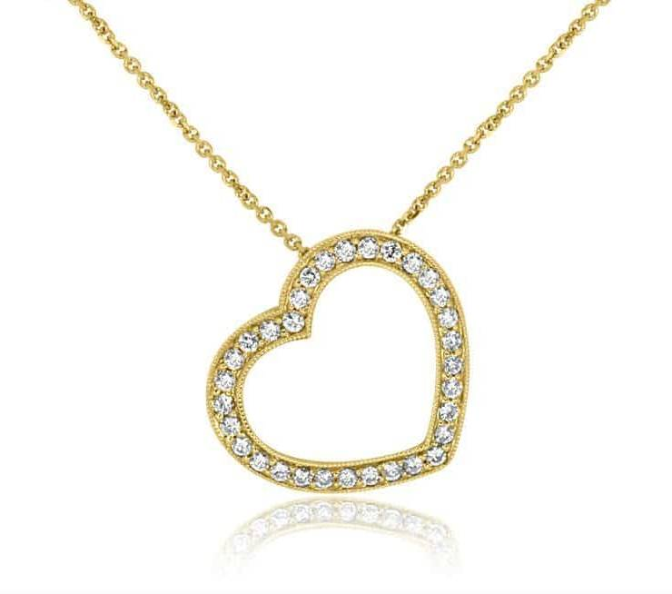 Diamond Pendant - DP221 - GN Designer Jewellers