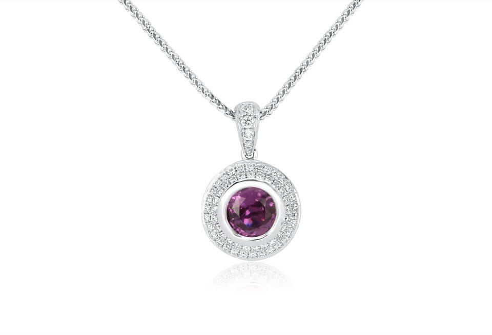 Diamond Pendants - DP261 - GN Designer Jewellers