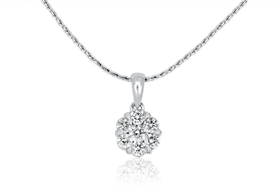 Diamond Pendant - DP262 - GN Designer Jewellers