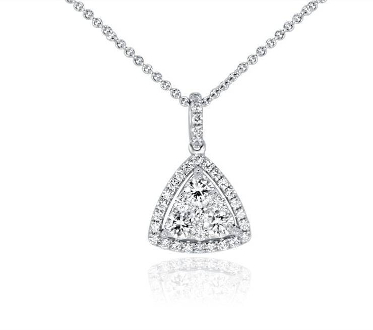 Diamond Pendant - DP295 - GN Designer Jewellers
