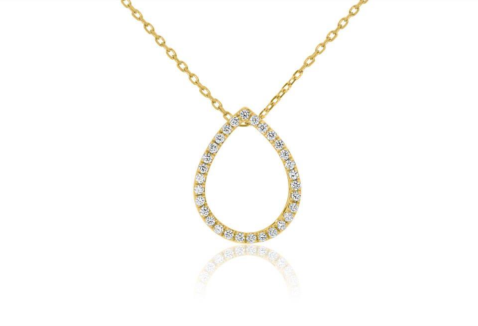 Diamond Pendant - DP297 - GN Designer Jewellers