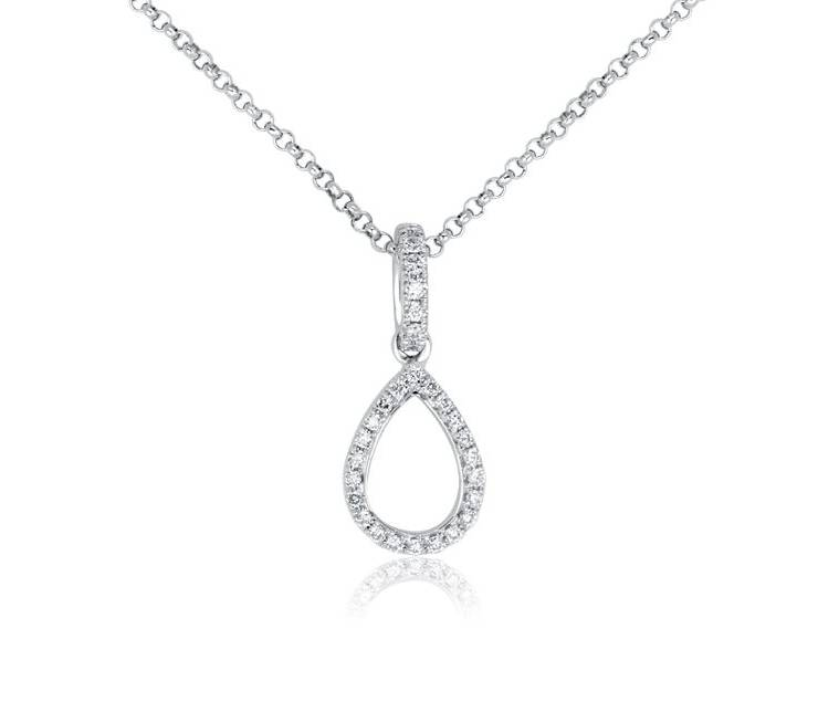 Diamond Pendants - DP299 - GN Designer Jewellers