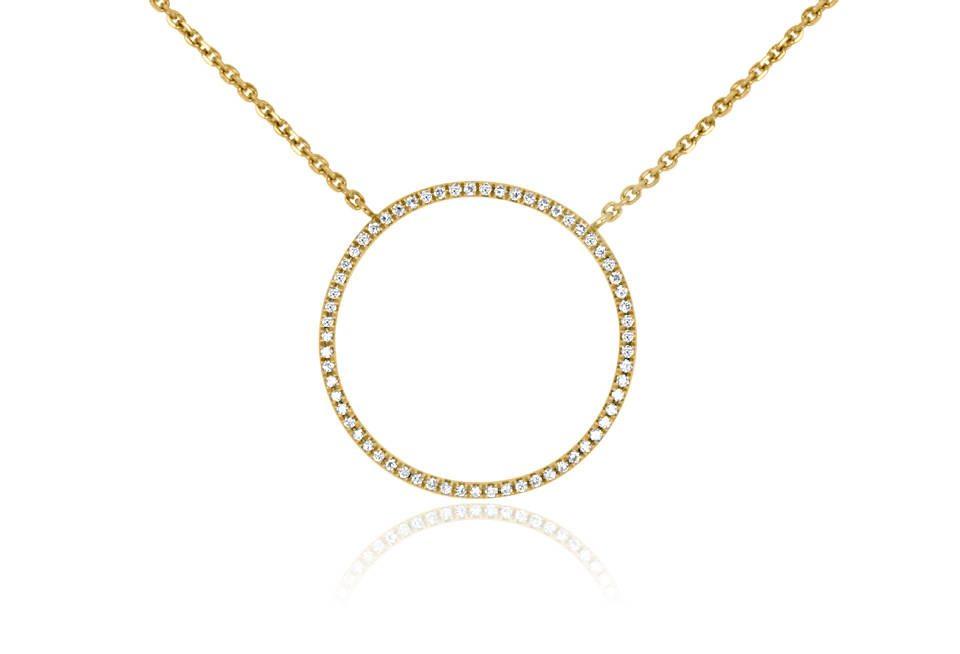 Diamond Pendant - DP302 - GN Designer Jewellers