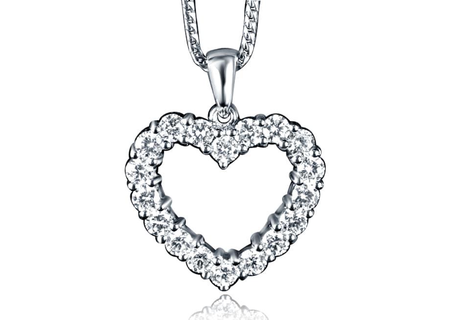 Ladies Diamond Pendant - DP94 - GN Designer Jewellers