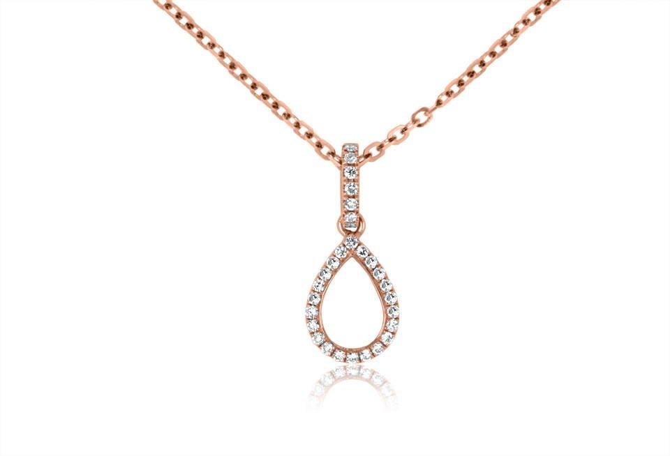 Diamond Pendant - DP063 - GN Designer Jewellers