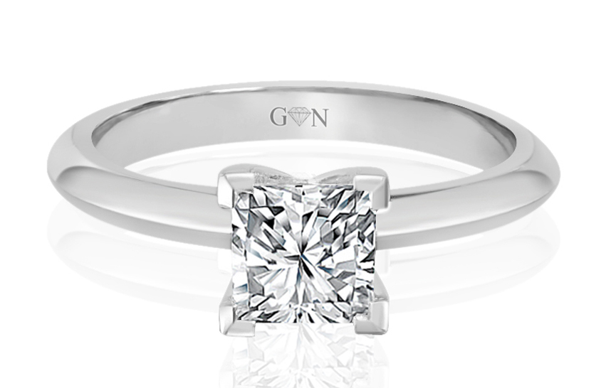 Ladies Solitaire Multi Band Engagement Ring - R758 - GN Designer Jewellers