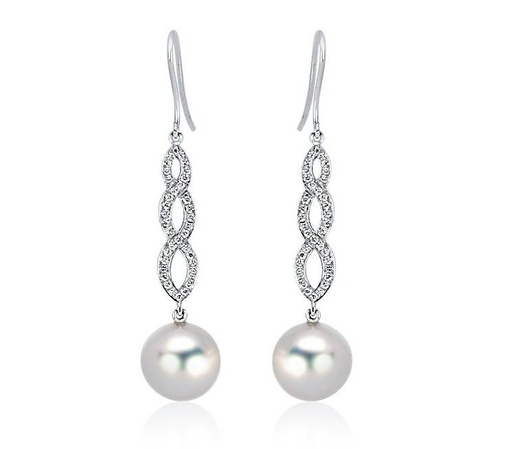 Diamond Earrings - DE185 - GN Designer Jewellers